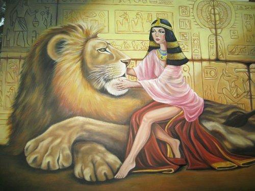 Клеопатра вдохновляла художников ещё с эпохи возрождения.