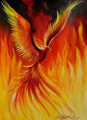 феникса изображением картинка с